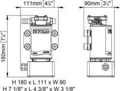Marco OCK1-E Reversible oil/diesel transfer kit 9