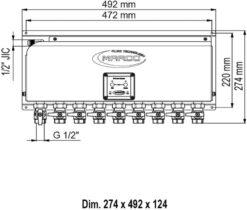 Marco OCS9/E Electronic Oil Change System - 9 BSP Valves (110-240 Volt) 5