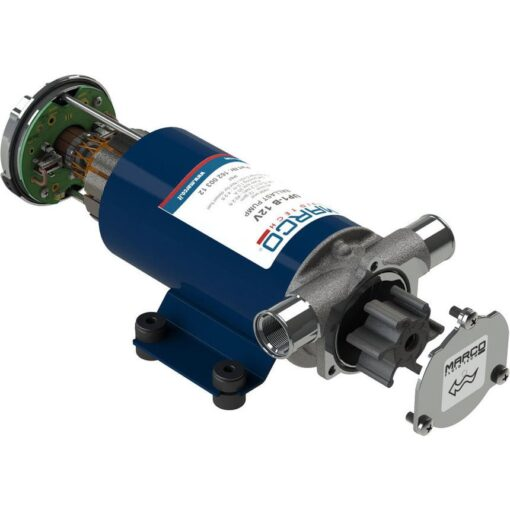 Marco UP1-B Ballast pump with rubber impeller 11 gpm - 45 l/min (24 Volt) 3