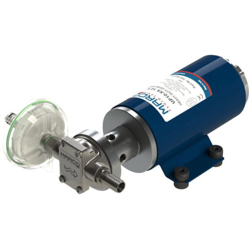 Marco UP10-XA Pump for weed killers 4.8 gpm - 18 l/min - s.s. AISI 316 L - EDPM seal (24 Volt) 3
