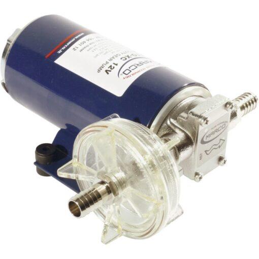 Marco UP10-XC Heavy duty pump 4.8 gpm - 18 l/min - AISI 316 L (24 Volt) 3