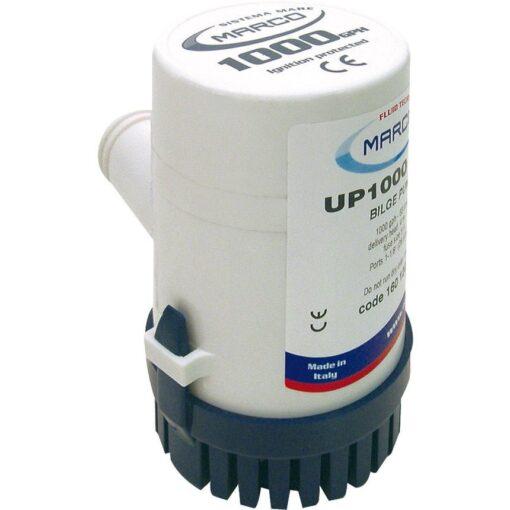 Marco UP1000 Submersible pump 1000 gph - 63 l/min (24 Volt) 2