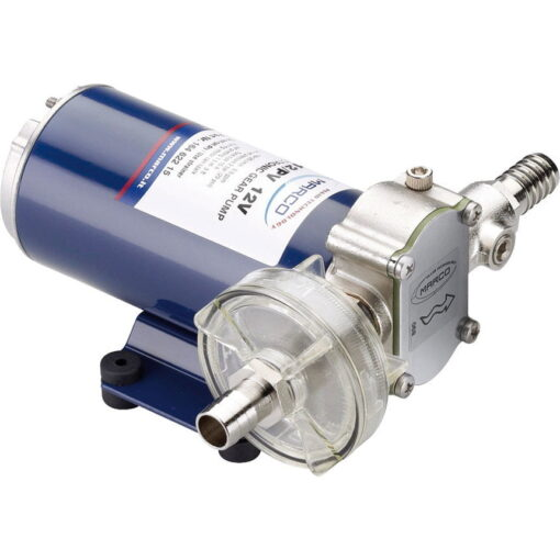 Marco UP12-PV PTFE Gear pump with check valve 9.5 gpm - 36 l/min (24 Volt) 3