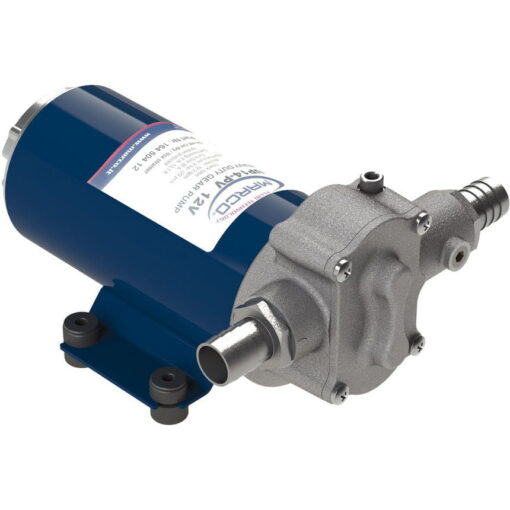 Marco UP14-PV PTFE Gear pump with check valve 12.2 gpm - 46 l/min (12 Volt) 3