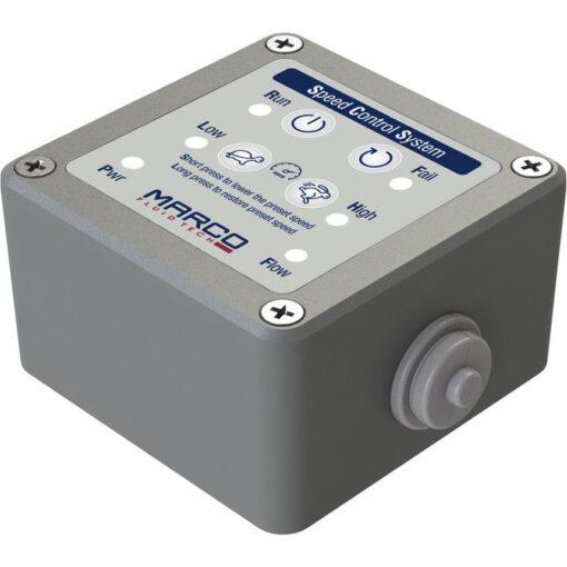 Marco UP12/E-BR 12/24V bronze gear pump with electronic pressure sensor 9.5 gpm - 36 l/min 4