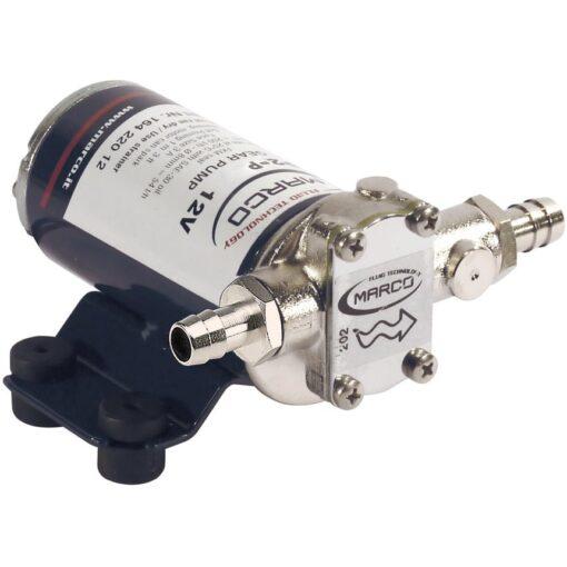 Marco UP2-P PTFE Gear pump 2.6 gpm - 10 l/min (12 Volt) 3