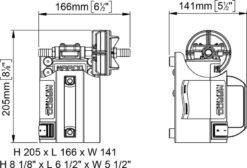 Marco UP3-CK Portable gear pump kit 4 gpm - 15 l/min (24 Volt) 8
