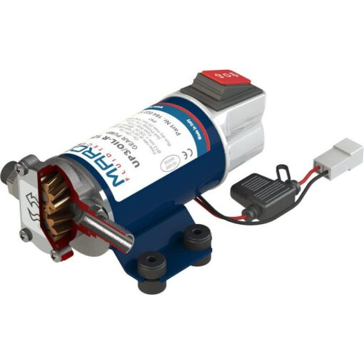 Marco UP3/OIL-R Reversible pump lubricating oil + integr.on/off switch (12 Volt) 3