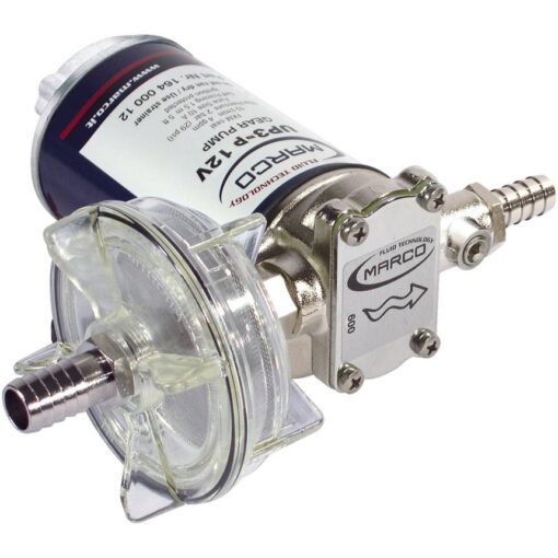 Marco UP3-P PTFE Gear pump 4 gpm - 15 l/min (12 Volt) 3