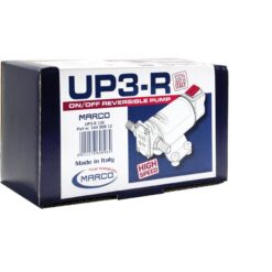 Marco UP3-R Gear pump 4 gpm - 15 l/min with integr. reversible switch (12 Volt) 11
