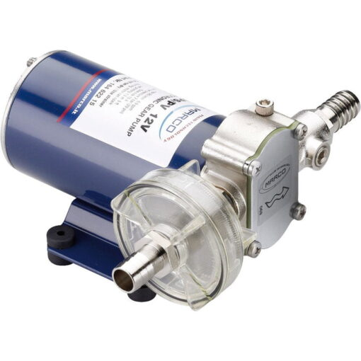 Marco UP6-PV PTFE Gear pump with check valve 6.9 gpm - 26 l/min (24 Volt) 3