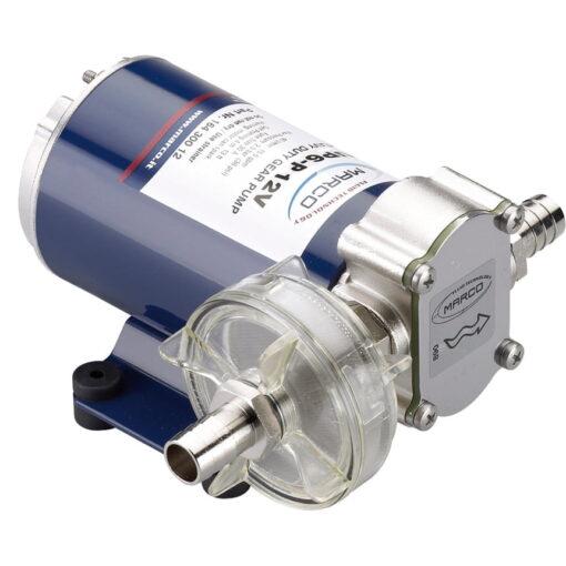 Marco UP6-P PTFE Gear pump 6.9 gpm - 26 l/min (12 Volt) 3