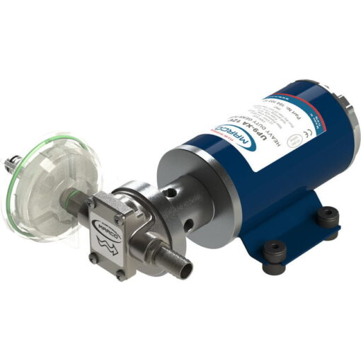 Marco UP9-XA Pump for weed killers 3.2 gpm - 12 l/min - s.s. AISI 316 L - EPDM seal (24 Volt) 3
