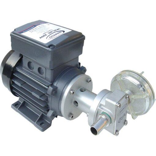 Marco UPX/AC Gear pump 2.6 gpm - 10 l/min - s.s. AISI 316 L (220 Volt) 3
