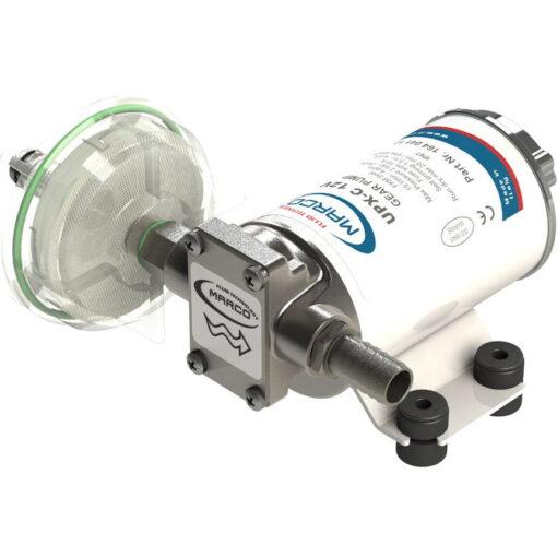 Marco UPX-C 12V Chem pump 4 gpm - 15 l/min - s.s. AISI 316 (12 Volt) 3