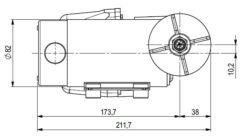 Marco DP12 Deck washing pump kit 5 bar - 72.5 psi (24 Volt) 9