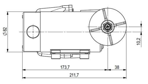 Marco DP12 Deck washing pump kit 5 bar - 72.5 psi (24 Volt) 5