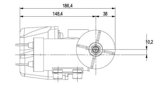 Marco DP3 Deck washing pump kit 3 bar - 43.5 psi (12 Volt) 6