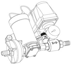 Marco DP3 Deck washing pump kit 3 bar - 43.5 psi (12 Volt) 9