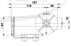 Marco DP3/E Deck washing pump + electronic control 3 bar - 43.5 psi 10
