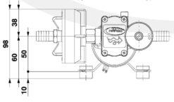 Marco DP3/E Deck washing pump + electronic control 3 bar - 43.5 psi 9