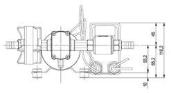 Marco DP9 Deck washing pump kit 4 bar - 58 psi (24 Volt) 10