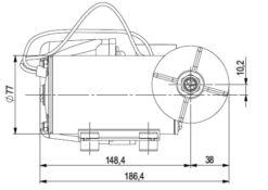 Marco DP9 Deck washing pump kit 4 bar - 58 psi (24 Volt) 9