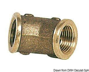 "Brass 45° elbow 3/4"" female/female 3"