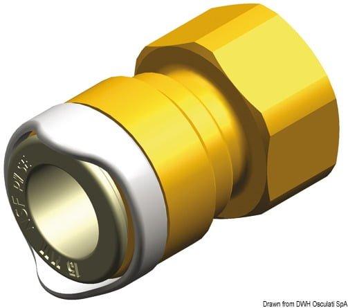 """Whale 1/2"""" BSP brass adapter 3"""