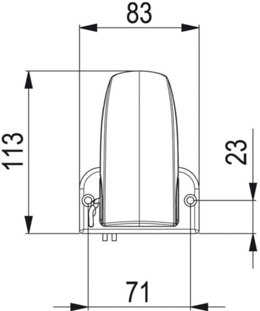 Marco AS2 Automatic switch for bilge pumps 3