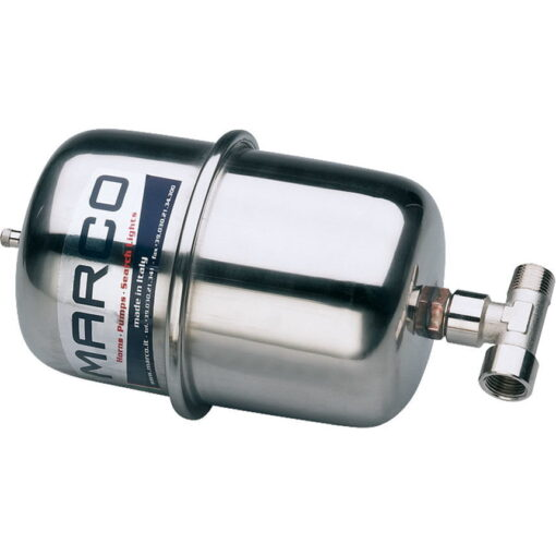 """Marco ATX2 Stainless steel accumulator tank 2 l with 1/2"""" T-nipple 3"""