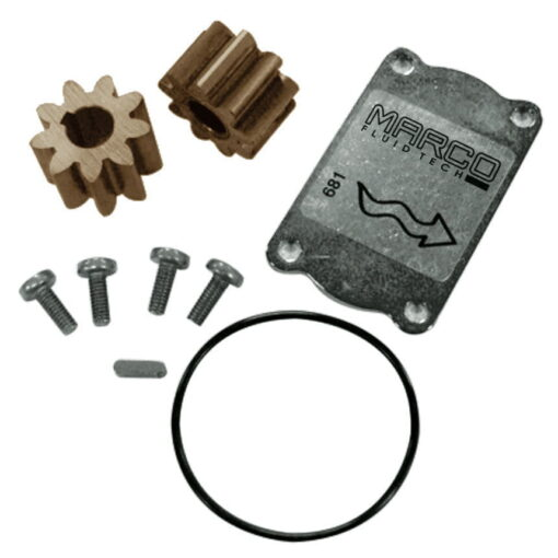 Marco Spare Part R6400001 - R-KIT Bronze gears ø24 mm (O-Ring 2162 NBR) 3