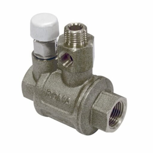 """Marco Spare Part R6400017 - Check Valve 3/8"""" BSP + relief valve + Fittings 3"""