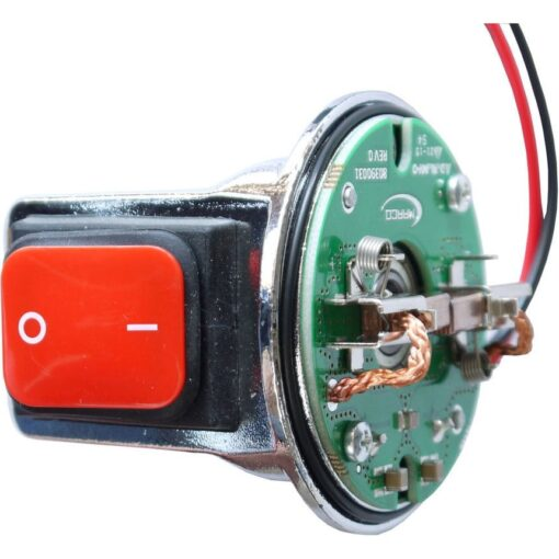 Marco Spare Part R6400061 - R-KIT brush holder mit ON-OFF Switch for Motor ø62 mm 3