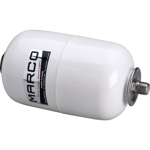 """Marco AT2 Accumulator tank, white 5 l with 3/4"""" T-nipple 3"""