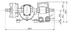 Marco DP12 Deck washing pump kit 5 bar - 72.5 psi (24 Volt) 10