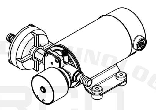Marco DP12/E Deck washing pump + electronic control 5 bar - 72.5 psi 9