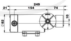 Marco DP12/E Deck washing pump + electronic control 5 bar - 72.5 psi 14