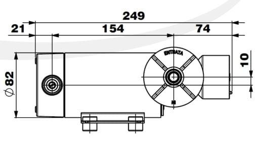 Marco DP12/E Deck washing pump + electronic control 5 bar - 72.5 psi 8