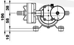Marco DP12/E Deck washing pump + electronic control 5 bar - 72.5 psi 13