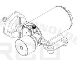 Marco DP9/E Deck washing pump + electronic control 4 bar - 58 psi 10