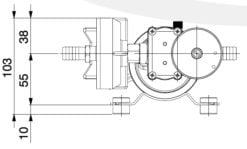 Marco DP9/E Deck washing pump + electronic control 4 bar - 58 psi 9