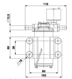 Marco SP2 SP2 Shower pump kit 2 bar 12