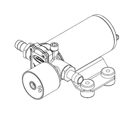 Marco SP2 SP2 Shower pump kit 2 bar 6