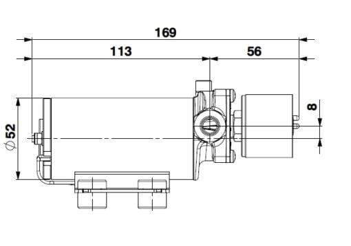 Marco SP2 SP2 Shower pump kit 2 bar 5