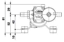 Marco SP2 SP2 Shower pump kit 2 bar 9