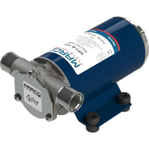 Marco UP1-B Ballast pump with rubber impeller 11 gpm - 45 l/min (12 Volt) 3