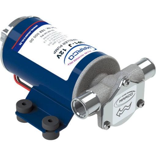 Marco UP1-J Pump, rubber impeller 7.4 gpm - 28 l/min (24 Volt) 3