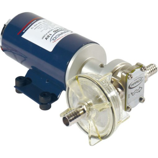 Marco UP10-HD Heavy duty pump with flange, 7 bar, 4.8 gpm - 18 l/min (12 Volt) 3