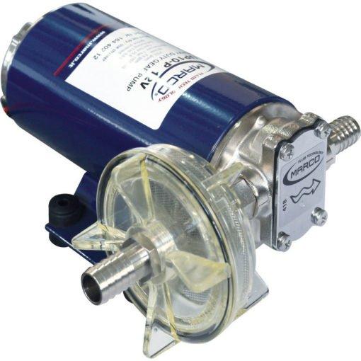Marco UP10-P Heavy duty pump 4.8 gpm - 18 l/min - PTFE gears - VITON O-Rings (24 Volt) 3